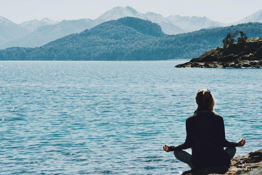 Meditando en el Nahuel Huapi. Isla Victoria y bosque de arrayanes.