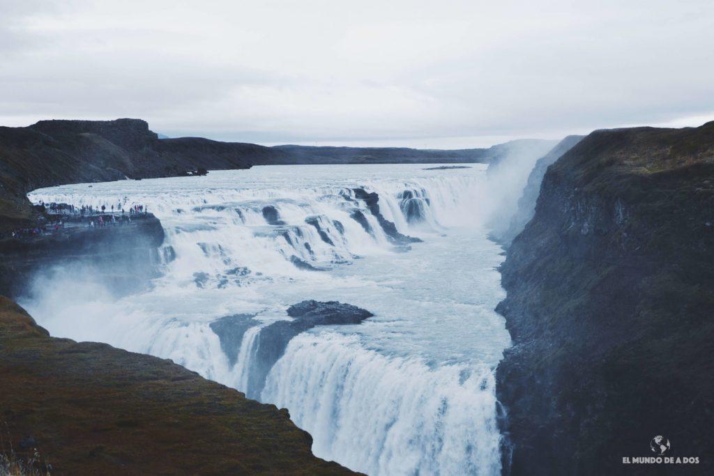 Gullfoss. Ruta por Islandia en 10 días