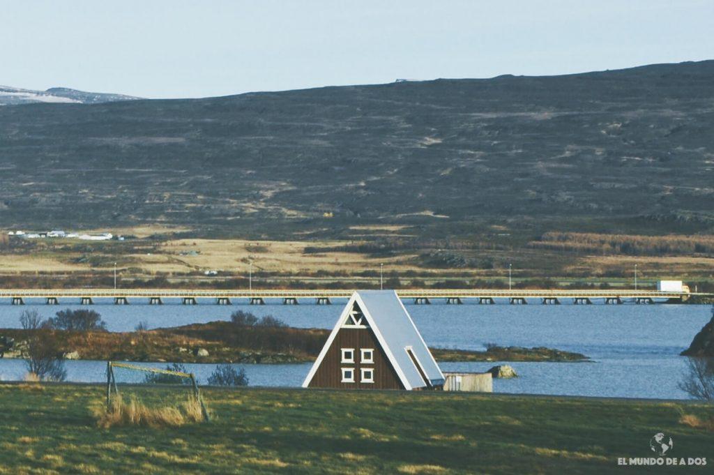 Casa en Islandia. Alojamiento en Islandia