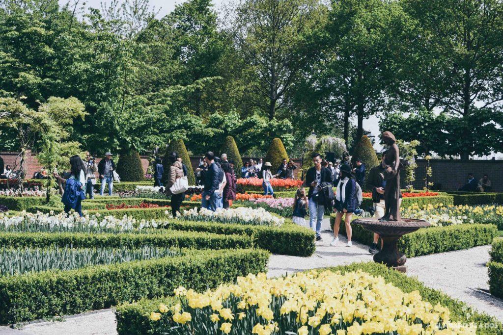 Senderos florales. Parque Keukenhof
