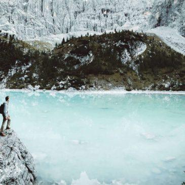 Lago Sorapis, un trozo de cielo entre los Dolomitas.