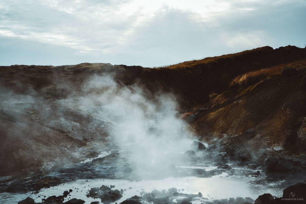 Fuentes termales de Islandia. Guía para viajar a Islandia