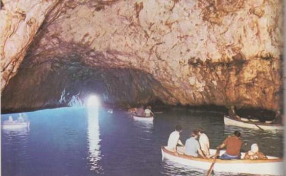 La gruta azul