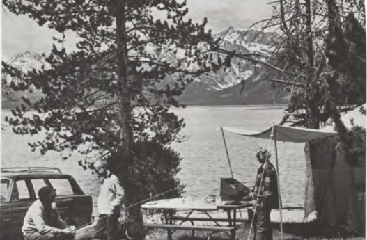 El major sitio para acampar