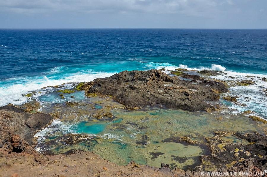 Piscinas naturales del norte de Gran Canaria