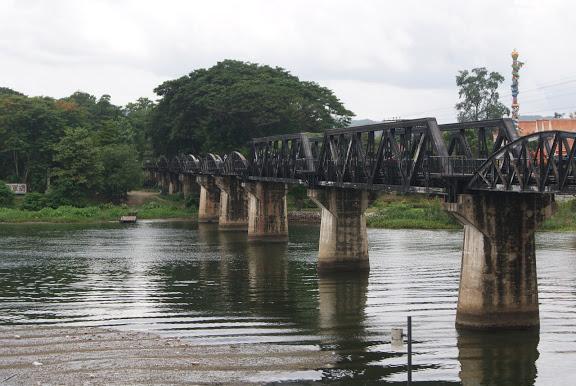 Kanchanaburi – ¿Erawan? y puente sobre el río Kwai