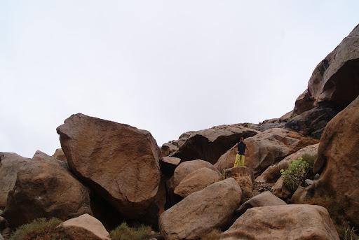 Playas del oeste de Fuerteventura - Barranco de las Peñitas en Ajuy