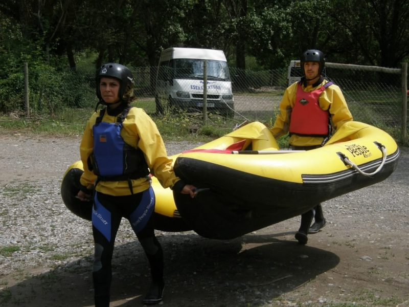 Canoa Raft en Benasque