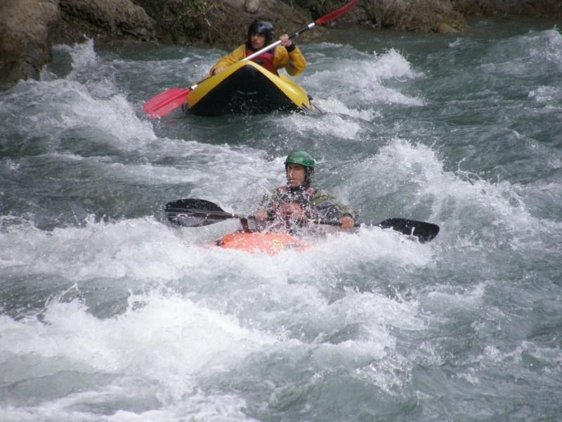 Canoa Raft en Benasque