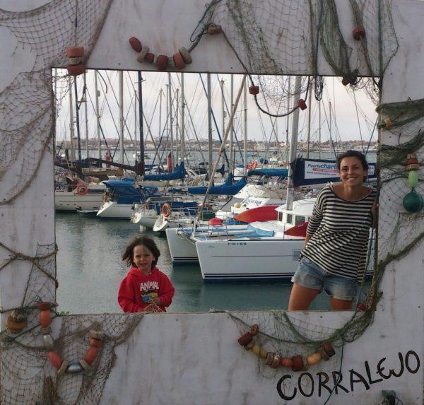 Playas del norte de Fuerteventura - muelle Corralejo