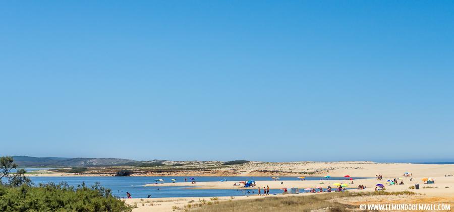 Playas del Alentejo - Playa de la laguna