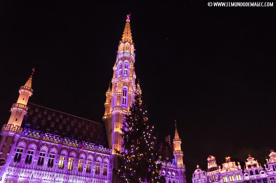 Mercados navideños de Bruselas - La Grand Place