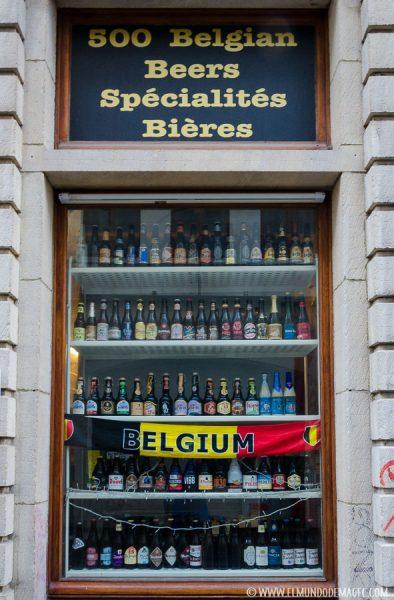 Que ver en Bruselas en dos días - Cervecería