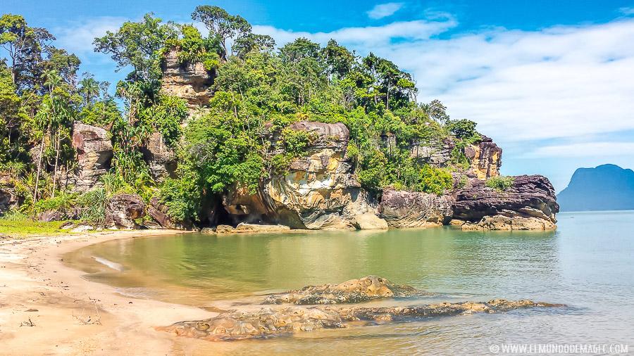Parque Nacional de Bako - Playa Paku