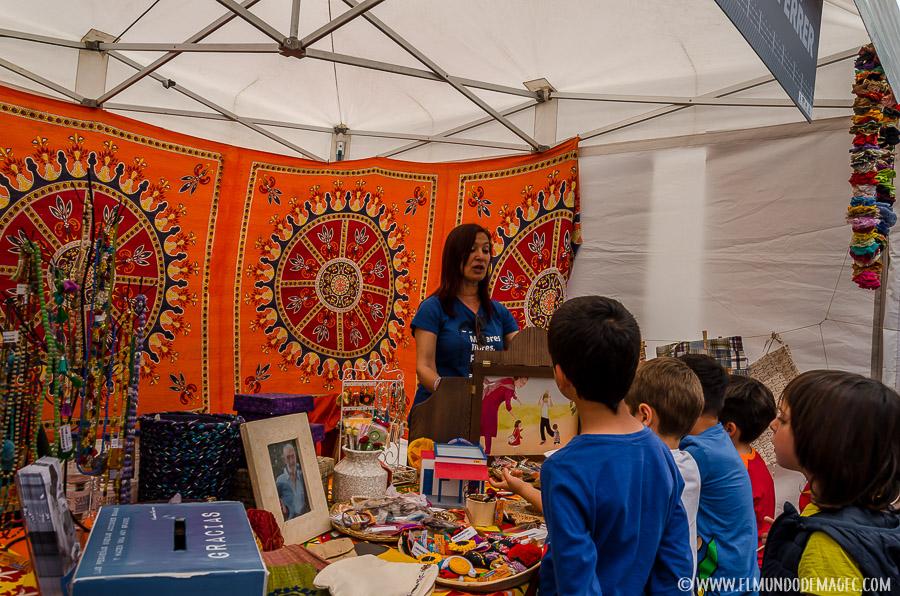 Planes en Gran Canaria con niños - Feria de ONG's