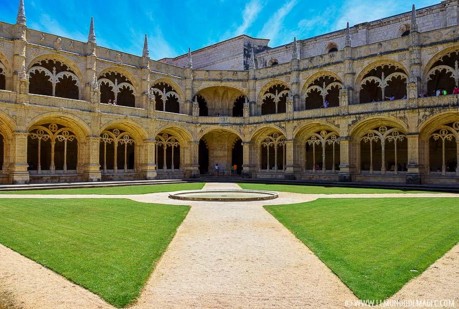 Dos días en Lisboa - claustro de Los Jerónimos
