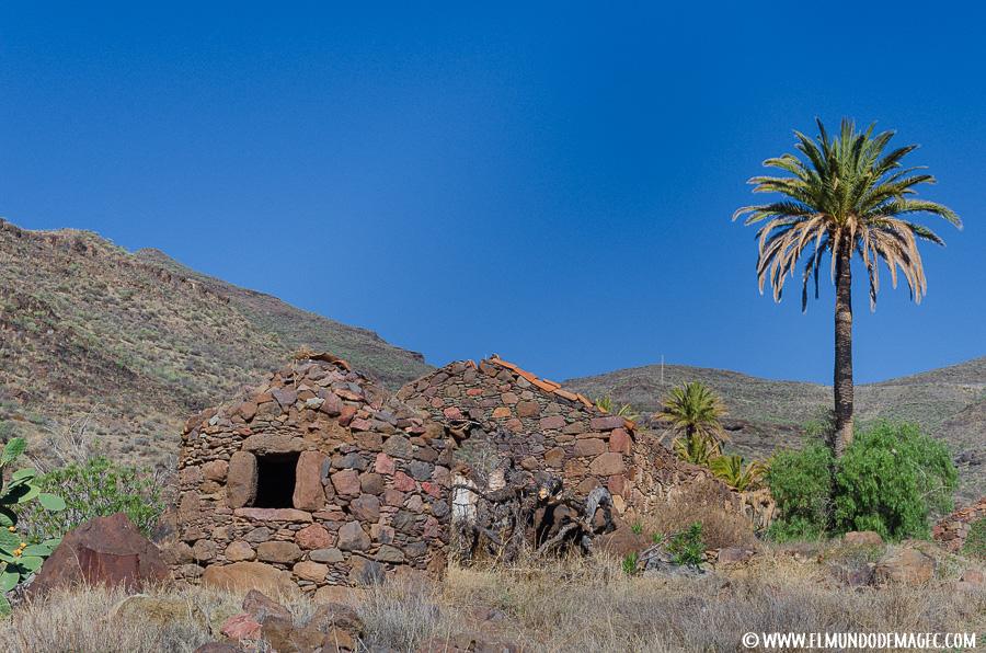 Senderismo en Gran Canaria - Caserío abandonado