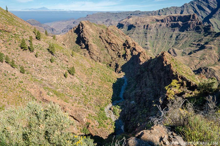 Senderismo en Gran Canaria - Barranco del Cofre