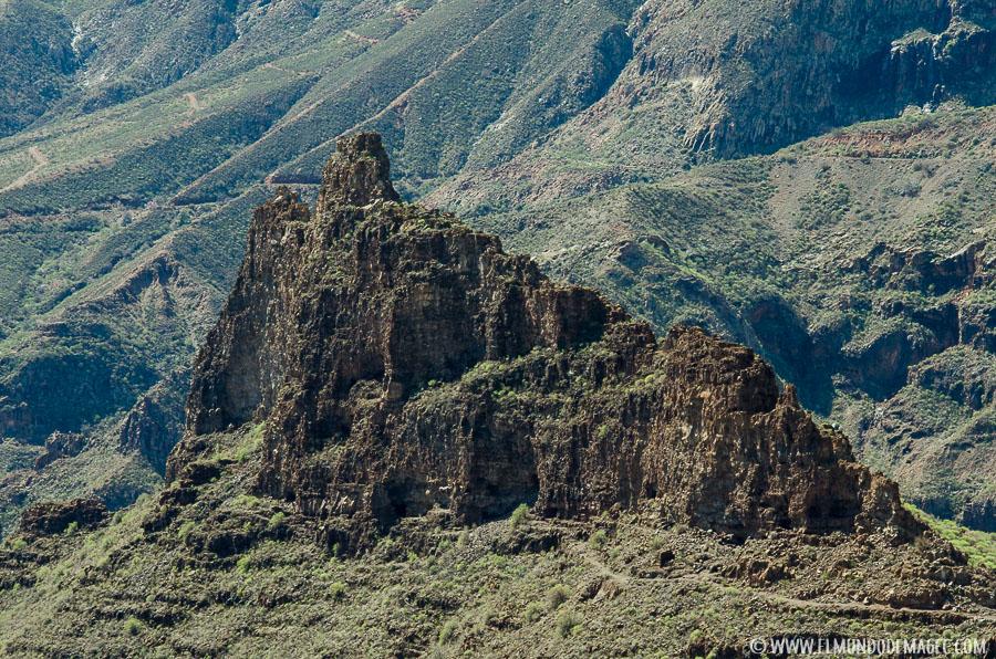 Senderismo en Gran Canaria - Fortaleza de Ansite