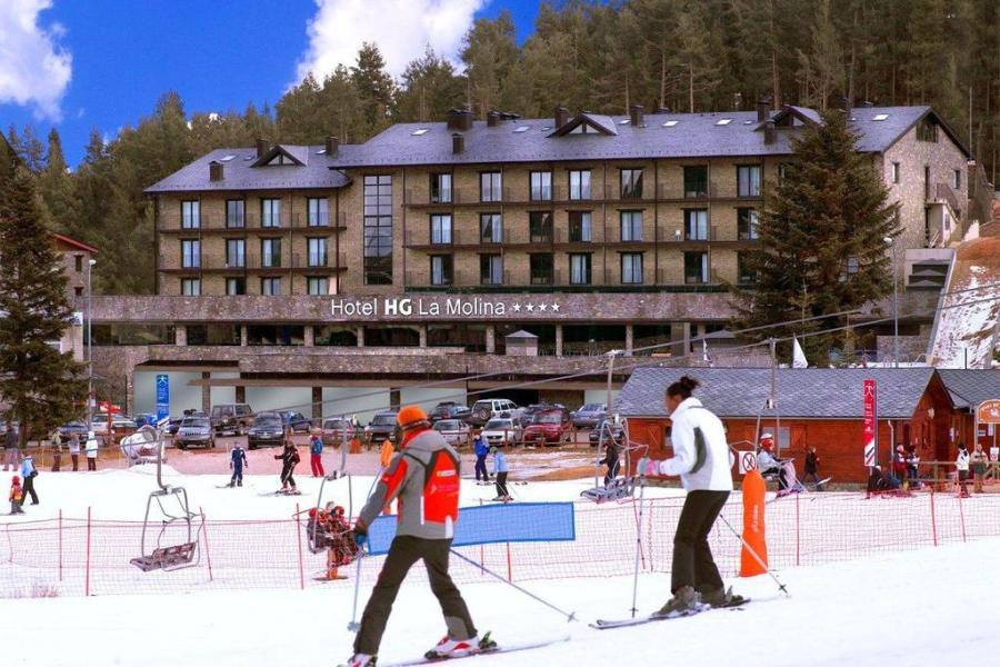 Esquiar con niños en La Cerdanya - hg la molina