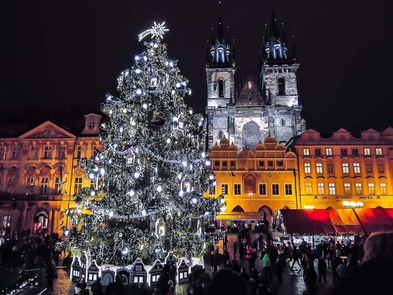 Mercado navideño de Praga