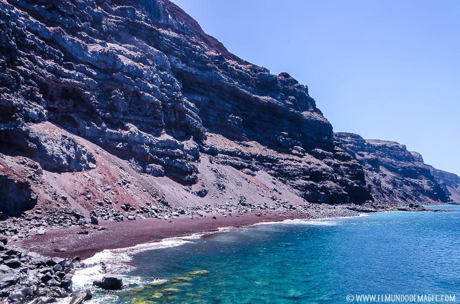 piscinas naturales de El Hierro - Playa de El Verodal
