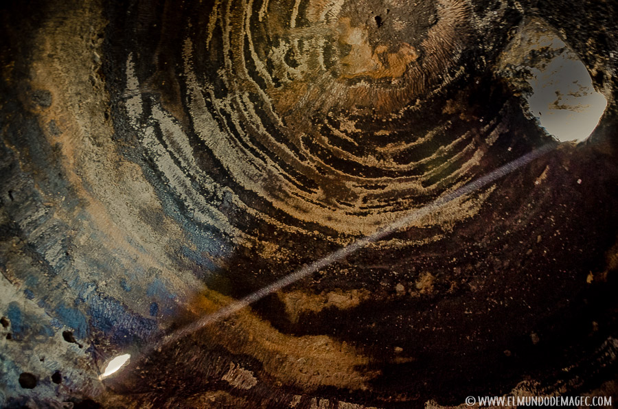 yacimientos arqueológicos de Gran Canaria - Risco Caído