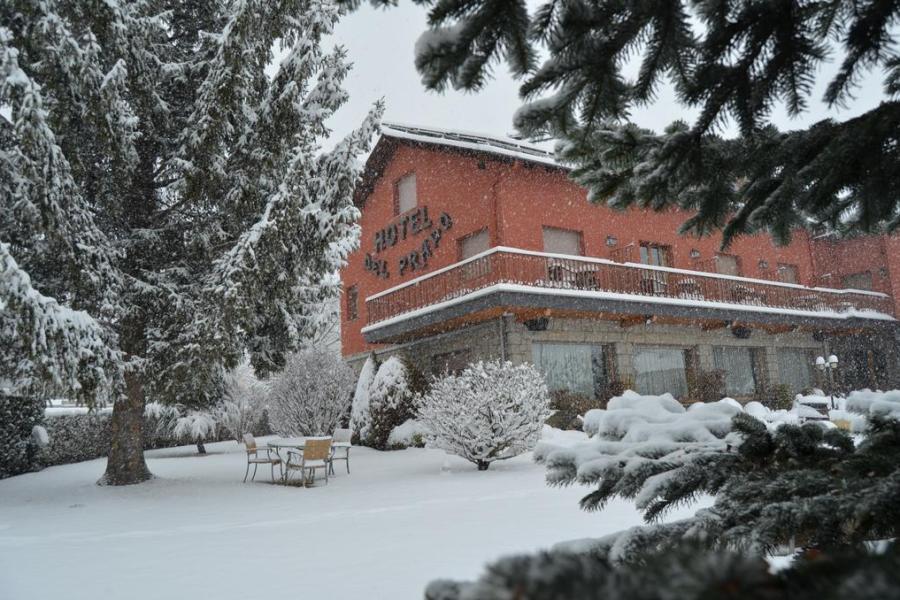 Esquiar con niños - Hotel del Prado