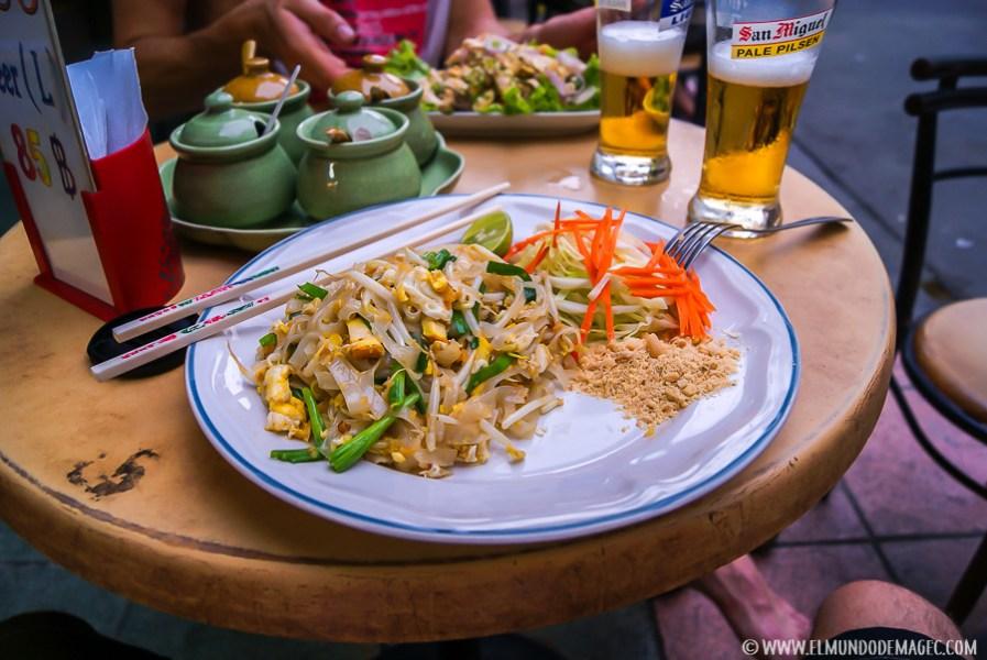 Razones para viajar a Tailandia - Pad Thai