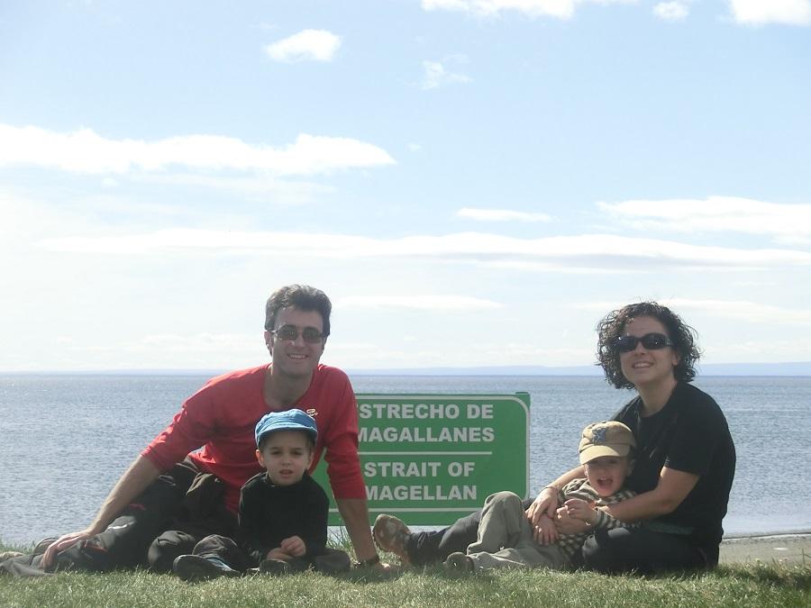 Viajando en familia hasta el Fin de Mundo
