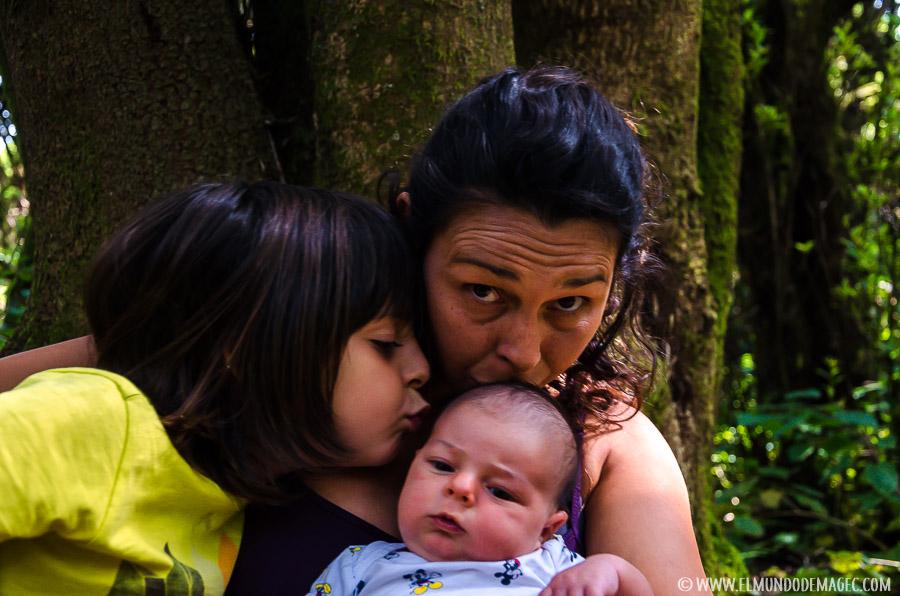 Con bebés en El Hierro