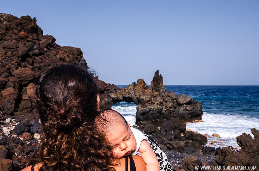 Aún viajando con bebés no podemos abandonar la naturaleza