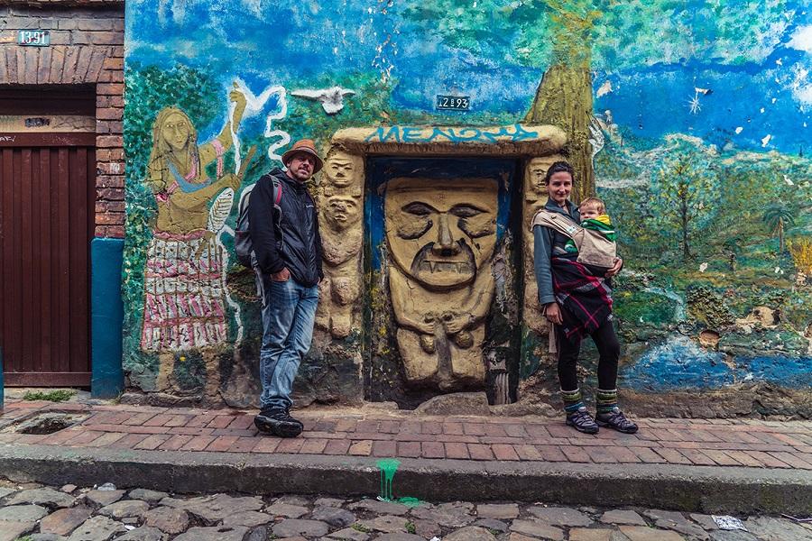 Viajando en familia por Colombia