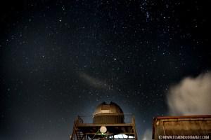 La cúpula de observación del astronómico