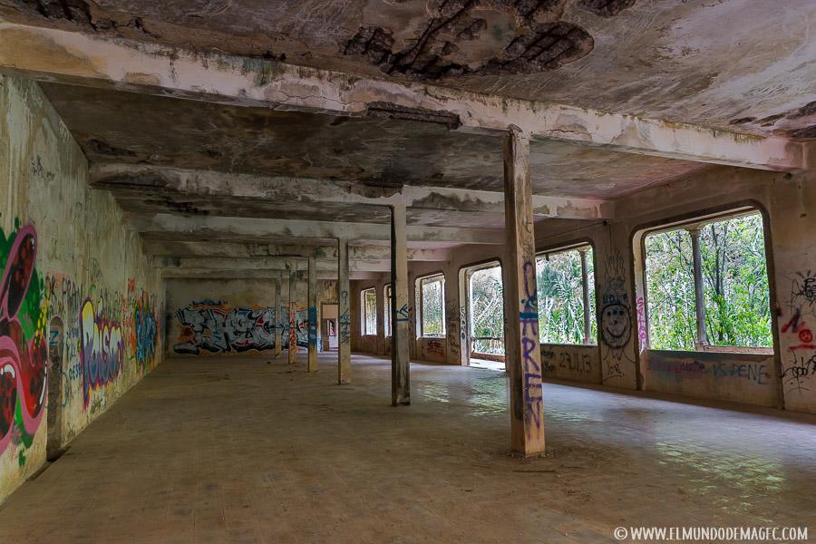 ruinas del hotel - balneario