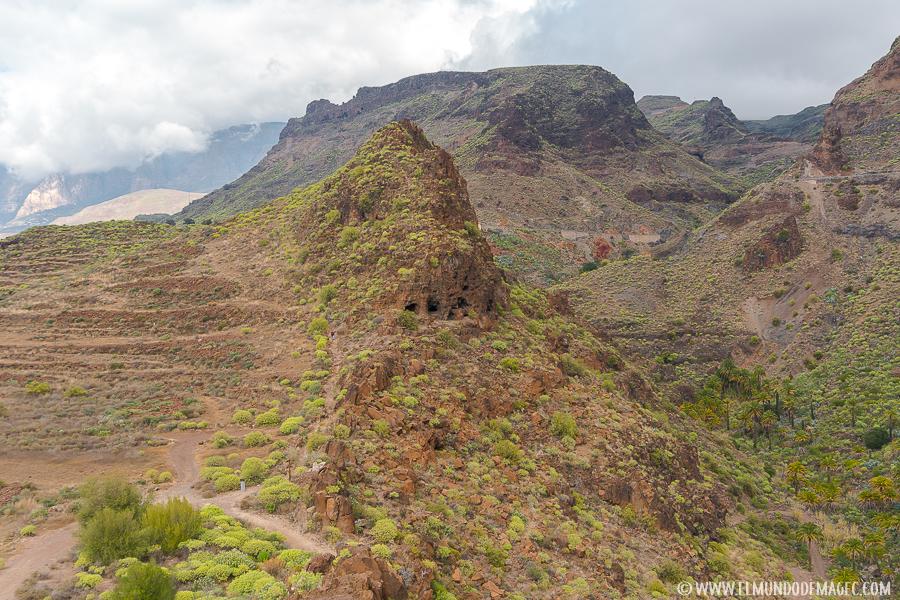 Fortaleza Chica vista desde mitad de ascensión a cumbre de Fortaleza Grande