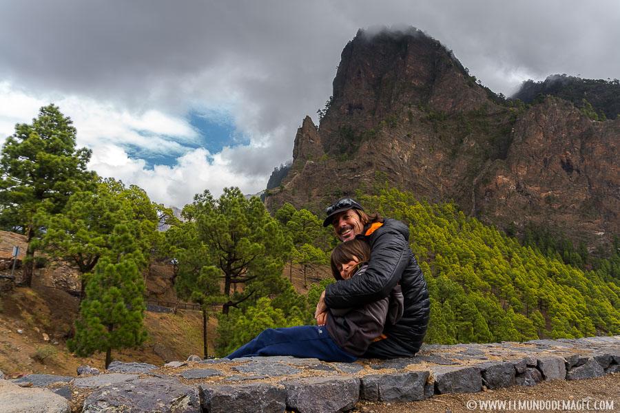 Senderismo con niños en La Palma - Caldera de Taburiente