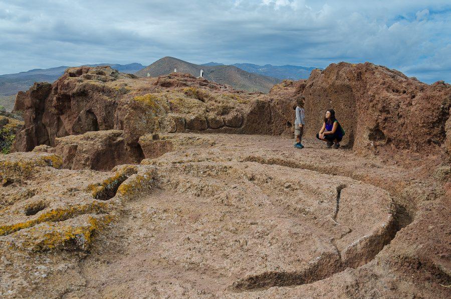 yacimientos arqueológicos de Gran Canaria - Yacimiento de cuatro puertas