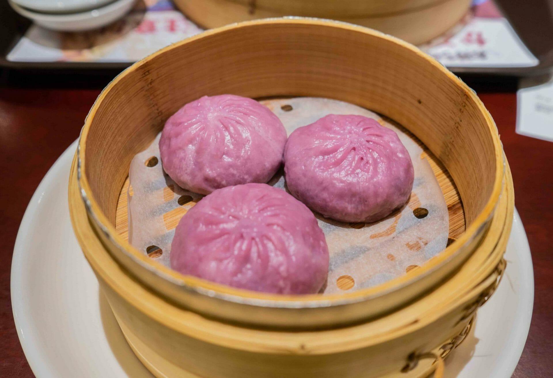 Baozi dulce taiwanés