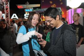 Nintendo DSi Midnight Launch Event at Universal CityWalk - 1