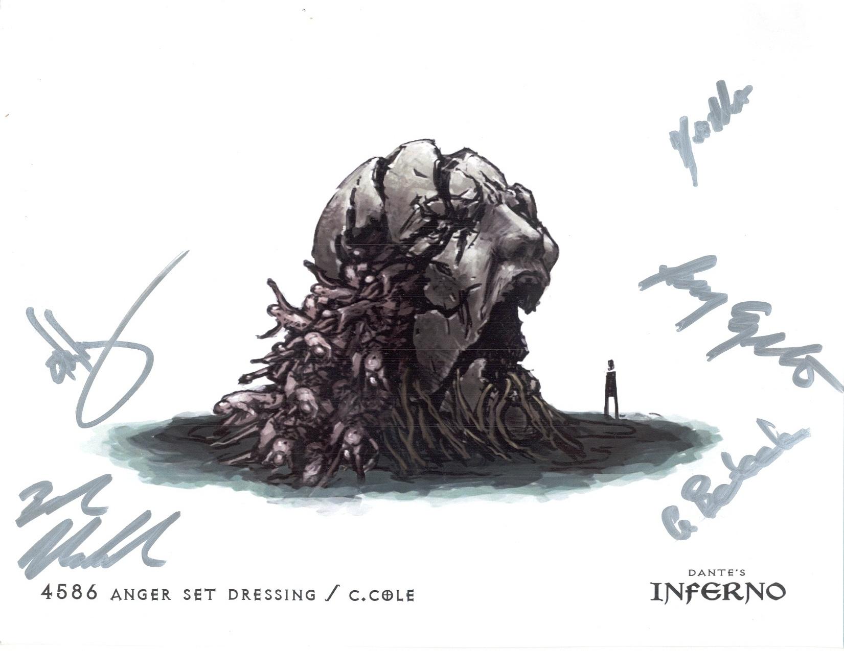 Ea Dante S Inferno Concept Art Concepto Artistico El