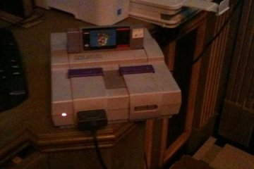 Dwight Howard's Super Nintendo console