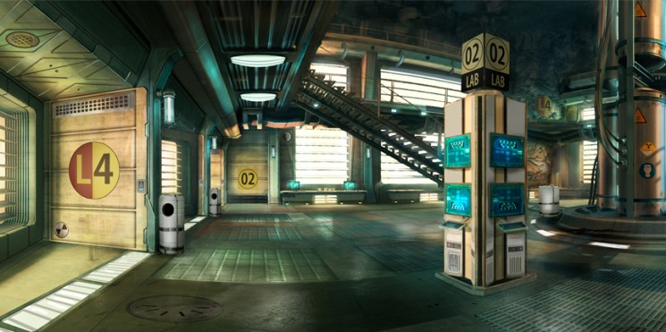 007 Legends - Lab 2 Concept Art (On Her Majesty's Secret Service)