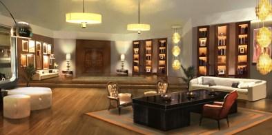 007 Legends - Office Concept Art (On Her Majesty's Secret Service)