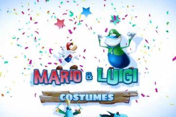 """Rayman Legends"" - Mario & Luigi Costumes"