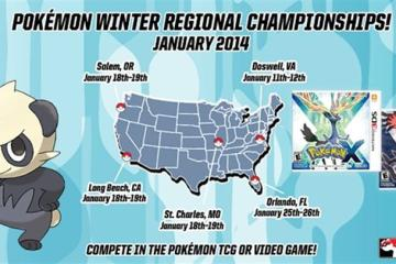 Pokémon Winter Regional Championship - January 2014