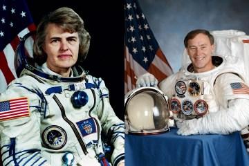 NASA: Shannon Lucid & Jerry Ross