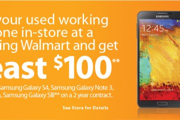 Walmart: Samsung devices - In-store trade-ins
