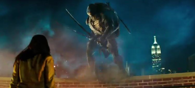 """TMNT"": First Film Trailer"