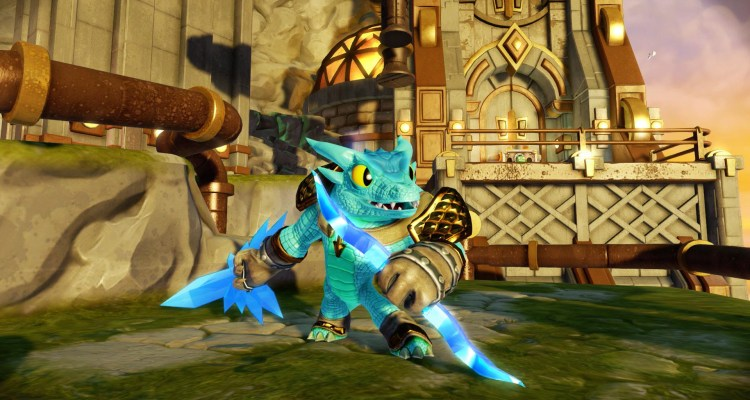 Snap Shot, one of the new Trap Masters in Skylanders Trap Team